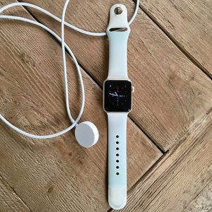 Apple Watch series one, sport.
